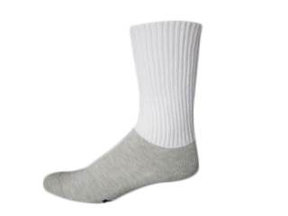 Our Walking Socks have plenty of padding in the foot and a non binding top!