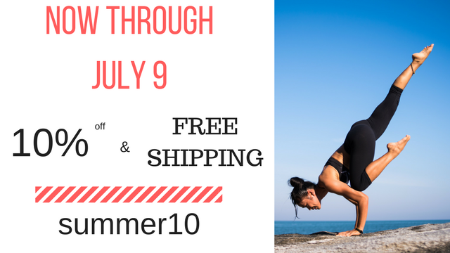 Our Summer Sale is going on now through July 9th!