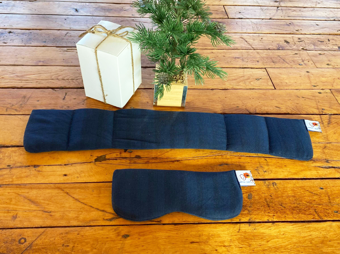 Gift Set Navy Striped