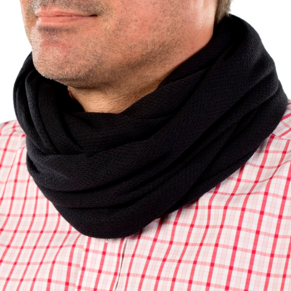 Draper Body Therapy®Black Infinity Scarf